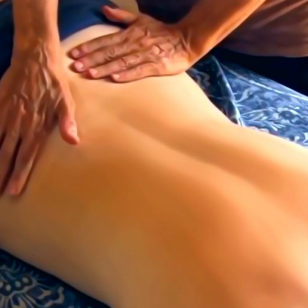massage warm comfort like spa or open fireplace